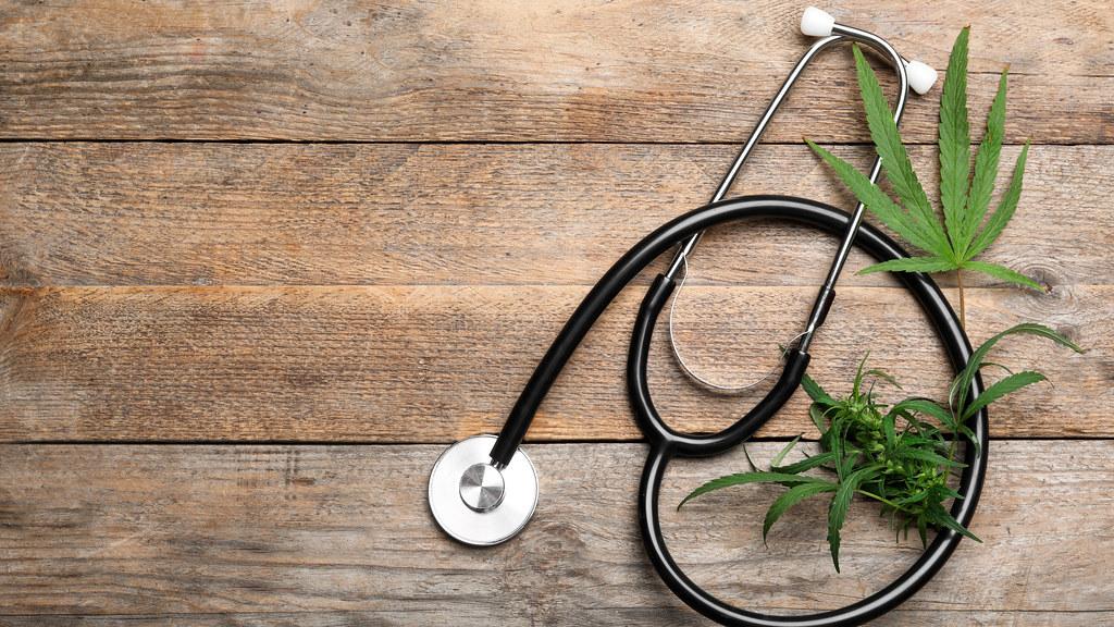 Medical cannabis representation.