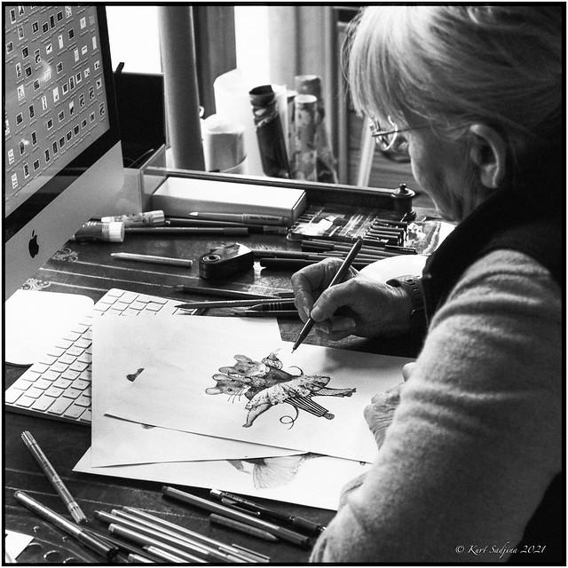 Drawing_Nikon FM2n