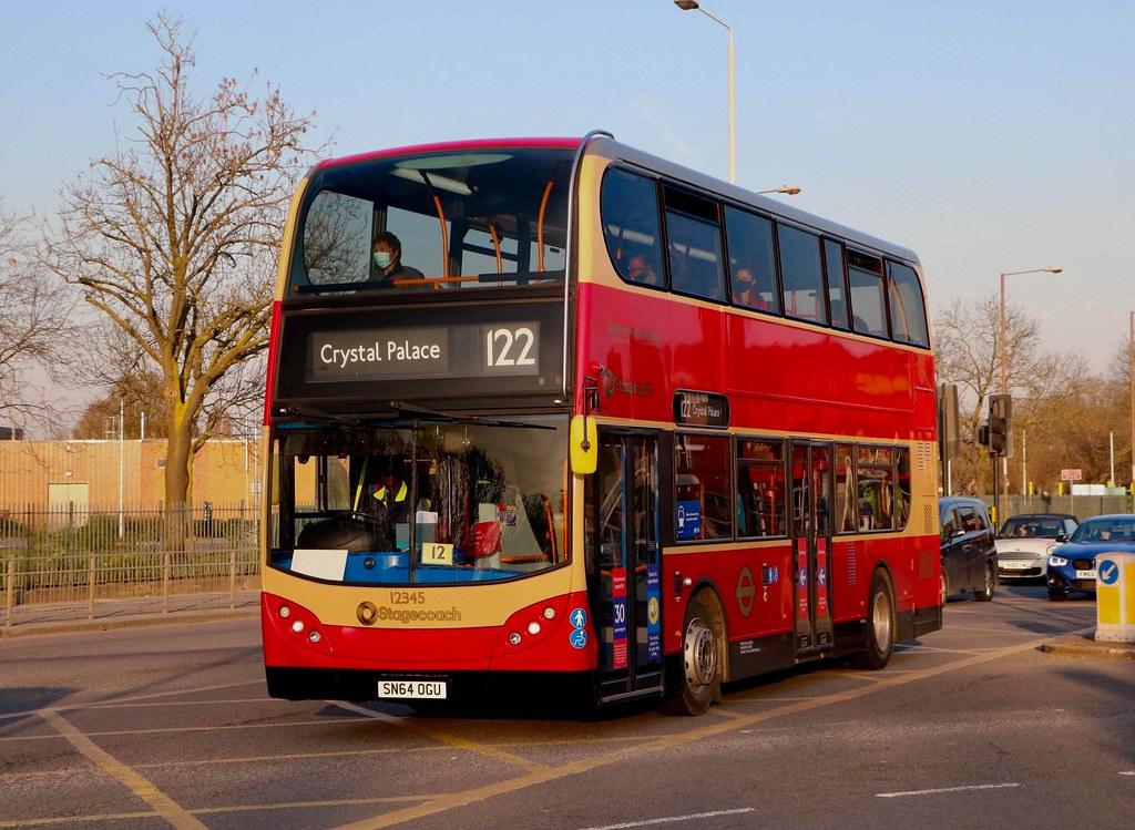 Selkent Ambassador - Stagecoach London - 12345 - SN64OGU