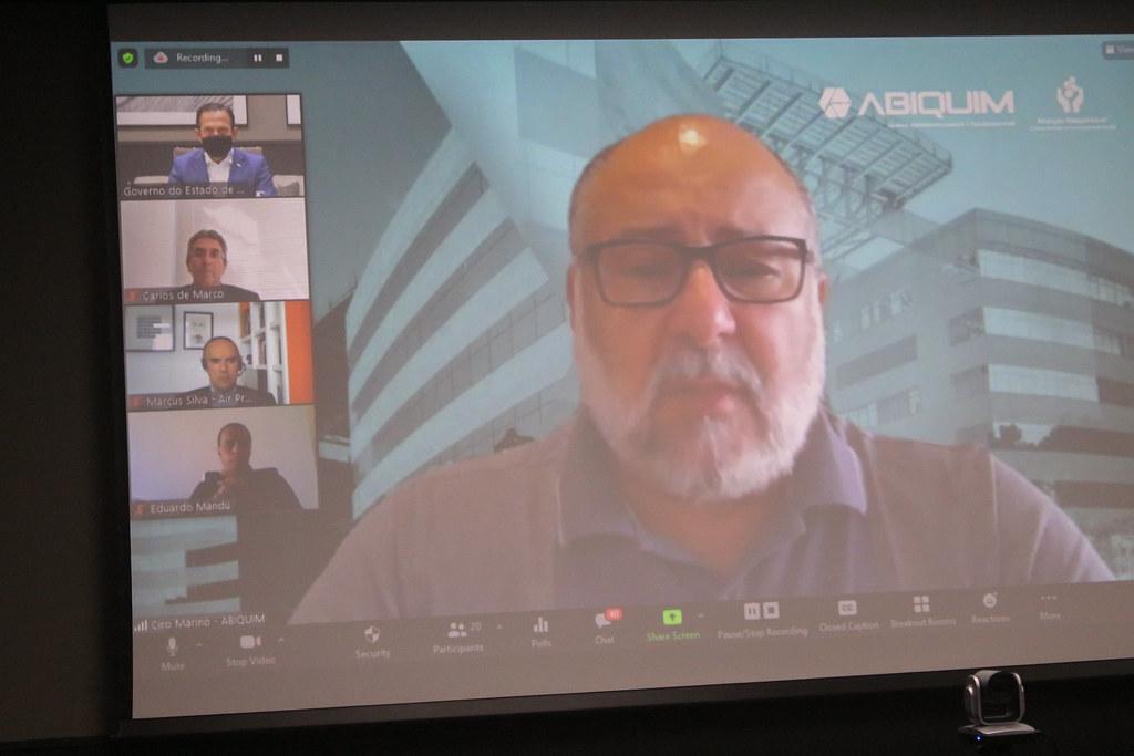 Reunião Virtual com Produtores de Oxigênio