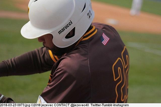 2018-03-23 0973 Baseball Valparaiso Crusaders  @ Butler University Bulldogs