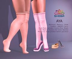 [Sheba] Aya Loafer w socks -socks - loafers