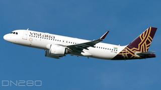 Vistara A320-251N msn 10355 VT-TQD