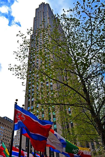 Comcast Building 30 Rockefeller Plaza Top of the Rock Rockefeller Center Midtown Manhattan New York City NY P00839 DSC_1026