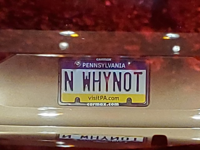 Cool License Plate!!