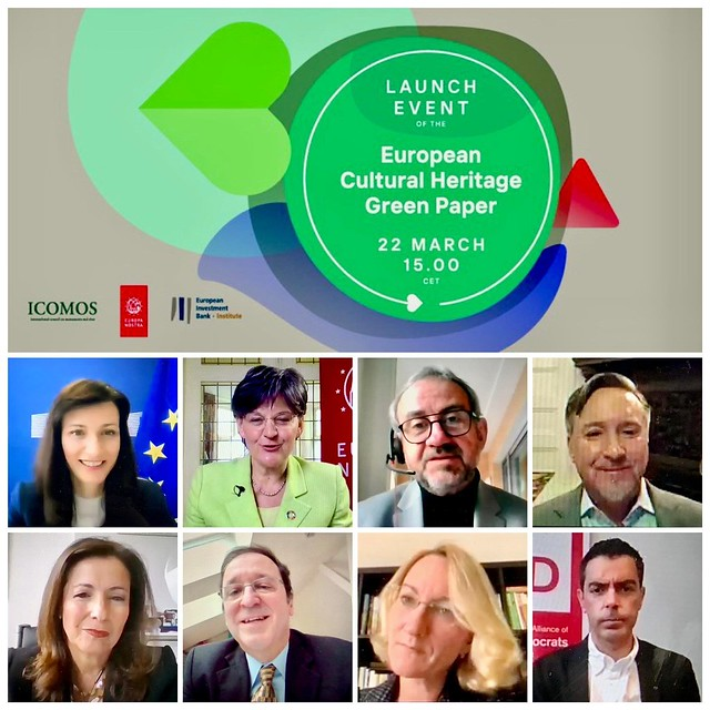 European Cultural Heritage Green Paper Launch Event