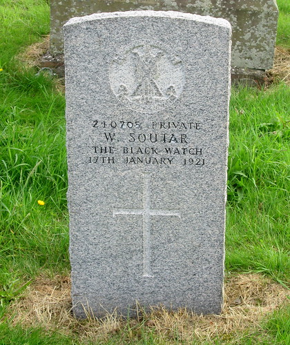 War Grave, Errol