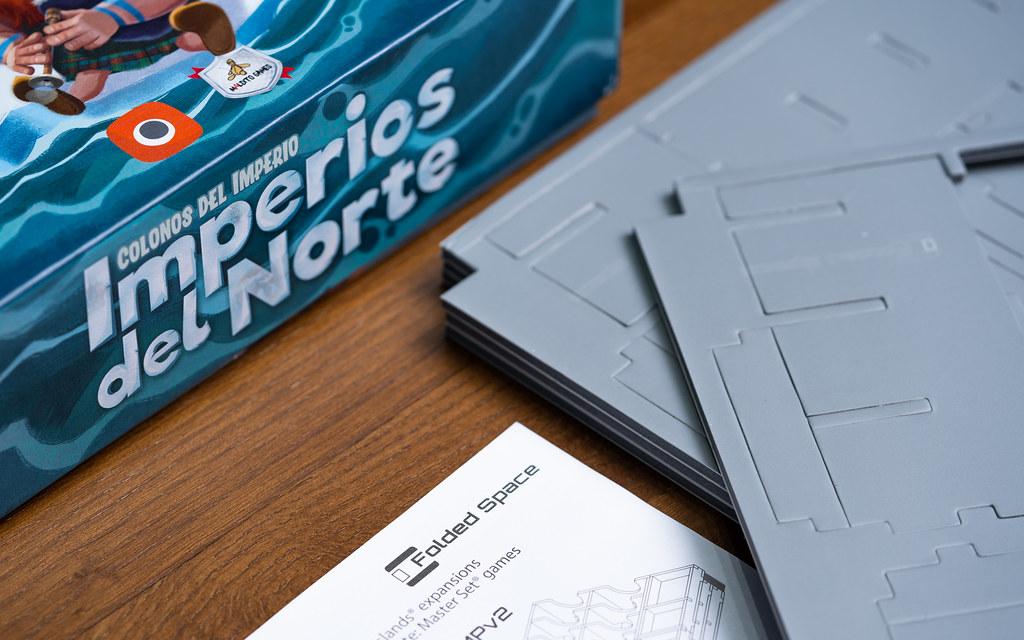 Folded Space boardgame juego de mesa