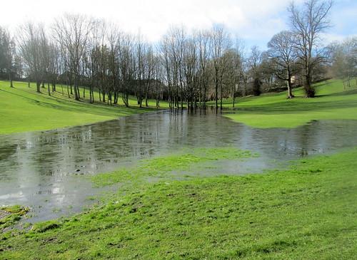 Flooded Golf Fairway, Balbirnie