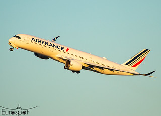 """F-HTYG Airbus A350-941 Air France s/n 479 """"Reims"""" - Delivery flight * Toulouse Blagnac 2021 *"""