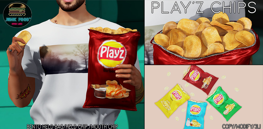 Junk Food - Play'z Chip Ad