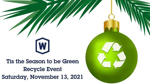 Tis the Season to be Green Recycle Event