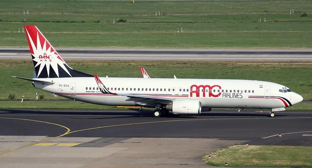 AMC Airlines, SU-BSA,MSN 30294,Boeing 737-86Q, 08.09.2018,DUS-EDDL, Düsseldorf
