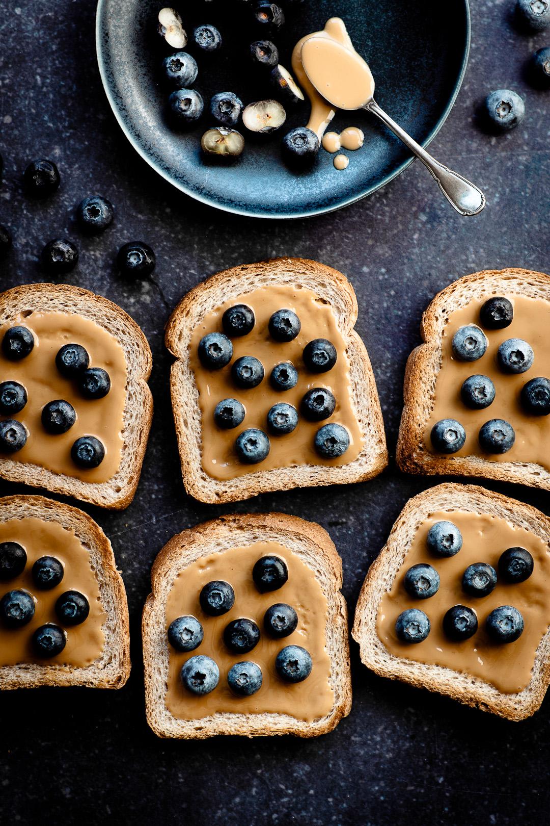 breakfast cut in slices