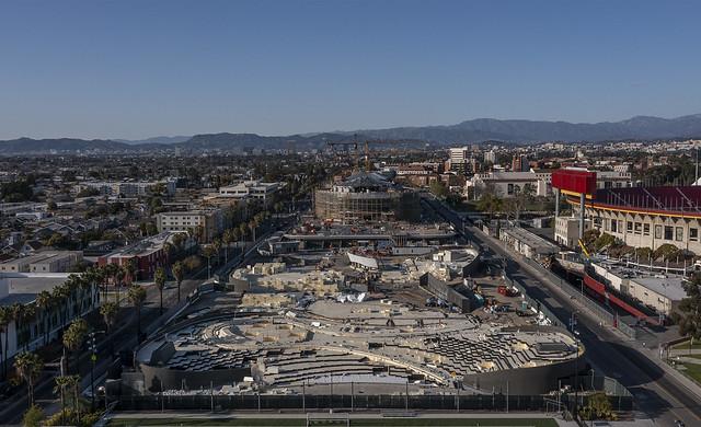Lucas Museum Contruction Progress 2021