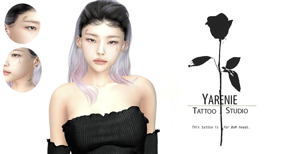 Wild Face Tattoo