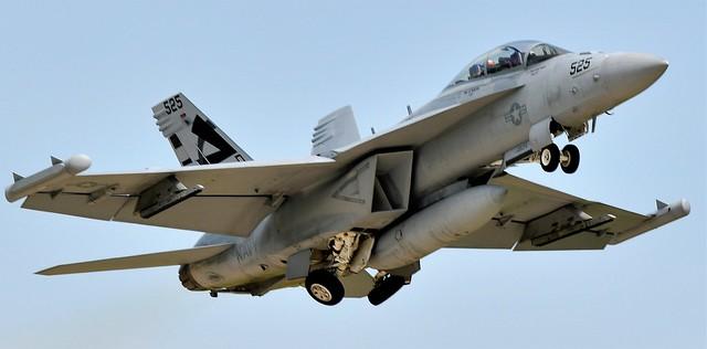 Boeing EA-18G Growler Jet  VX-23 Salty Dogs 525 US Navy