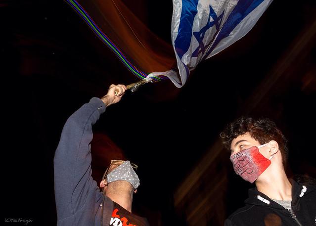 Anti Netanyahu protest in Jerusalem