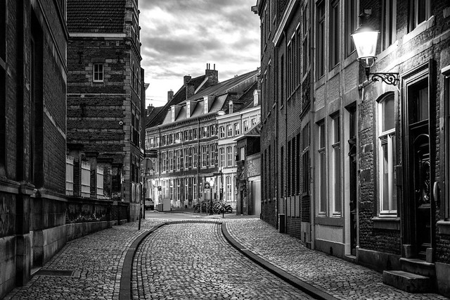 The old street, Maastricht