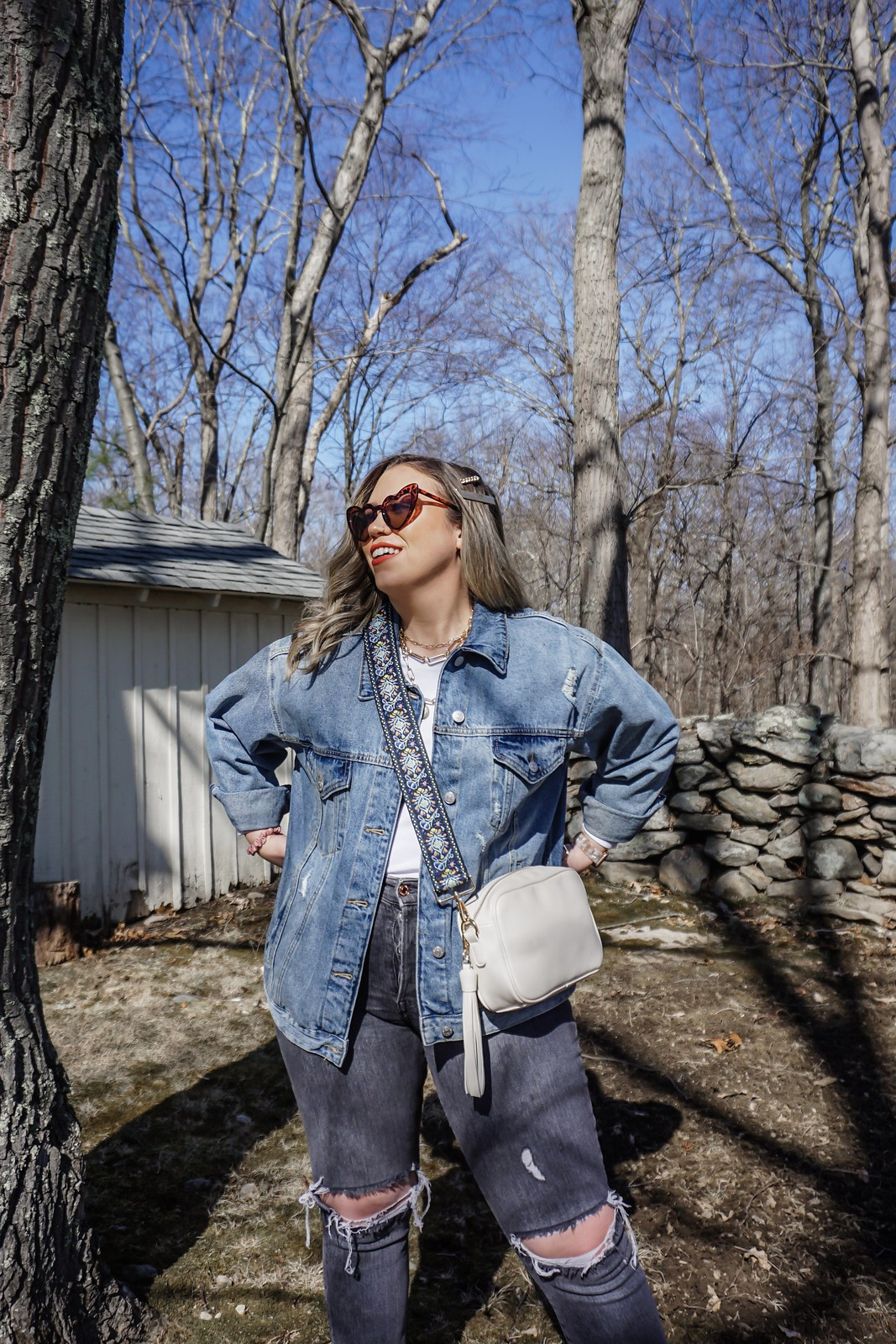 Ahdorned Bags | Spring Outfits Casual | Aesthetic Outfits | Mom Jeans | Vans Sneakers | Denim Jacket | Ahdorned: The Handbag Company You Need to Know About