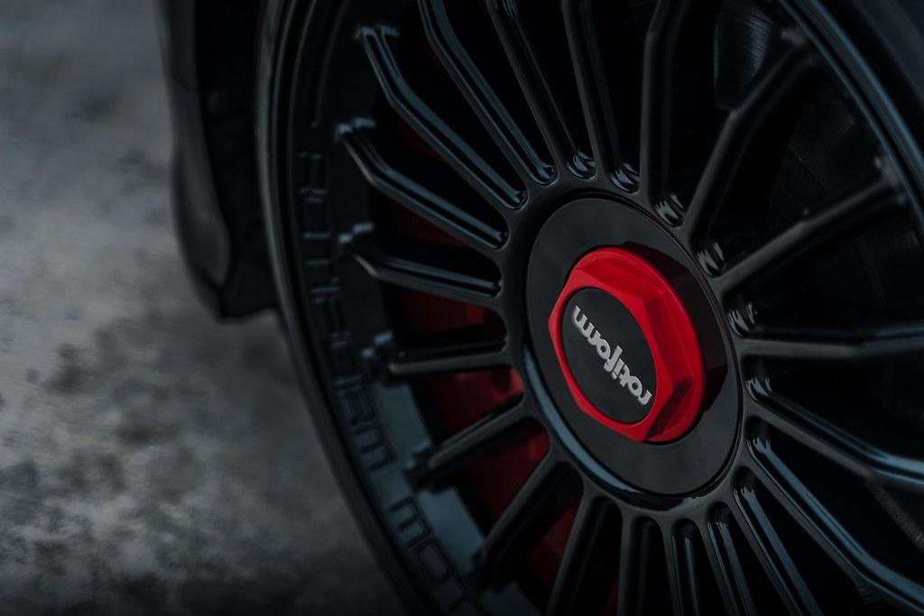 Christian Louboutin themed Audi TTS