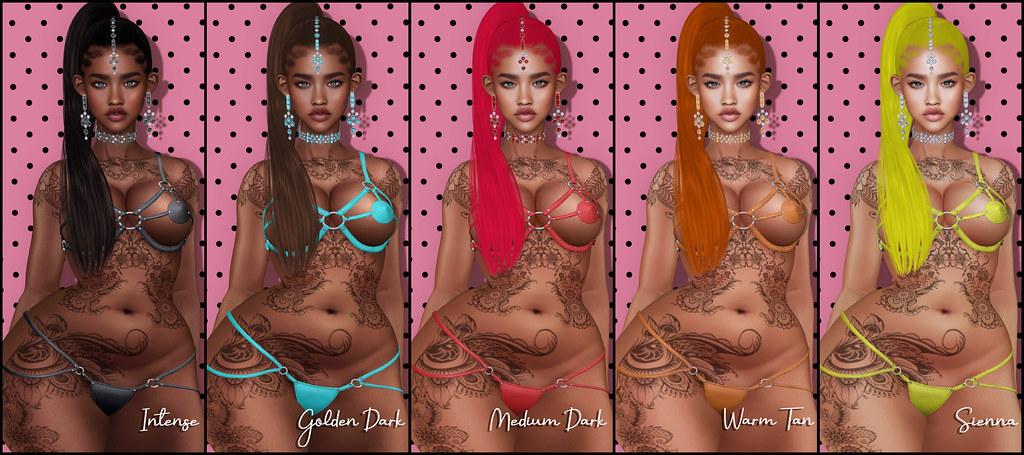 Skin Fair 2021 - N X GENUS LULU_Tones