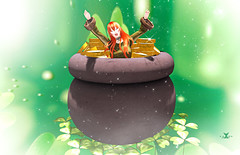 GIFT NEW POSE: *AAP* Pot of gold...