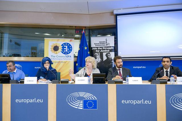 European Parliament: Arzu Merali, Jean Lambert MEP & Afzal Khan MEP