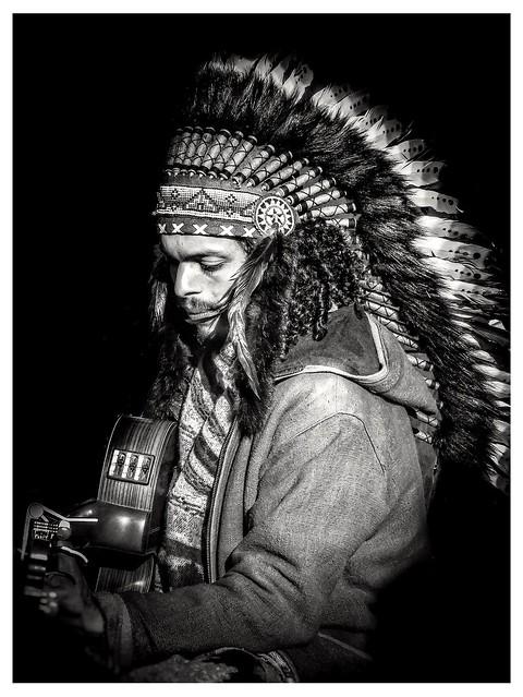 Un indien dans la plaine