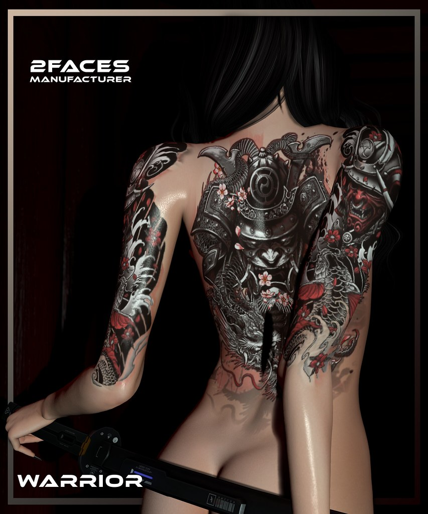 2faces - Warrior tattoo - Bom