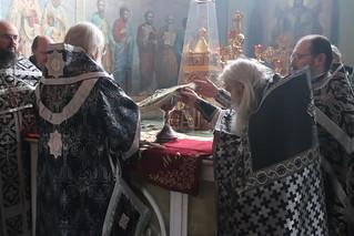 23.03.2021 | Литургия в Иверском монастыре
