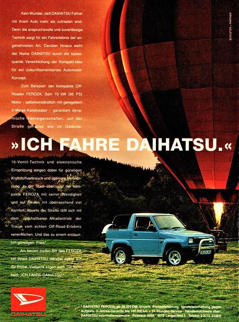 1992 Daihatsu Feroza