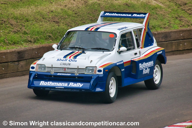 1986 MG Metro 6R4 Jimmy McRae