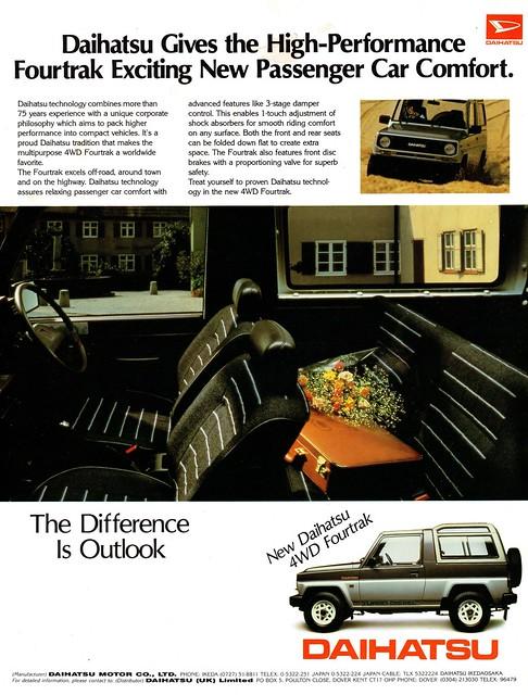 1985 Daihatsu 4WD Fourtrak