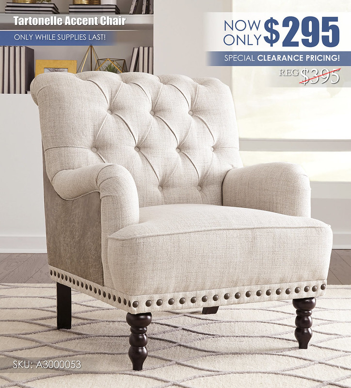 Tartonelle Accent Chair LimitedClearanceSpecial_A3000053_Update
