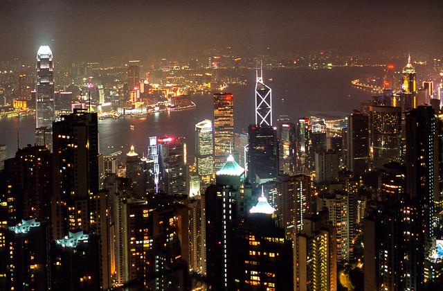 Hong Kong, late afternoon, 2008