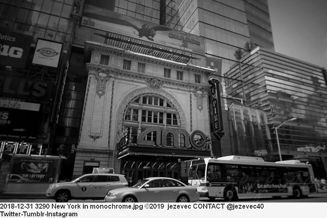 2018-12-31 3290 New York in monochrome