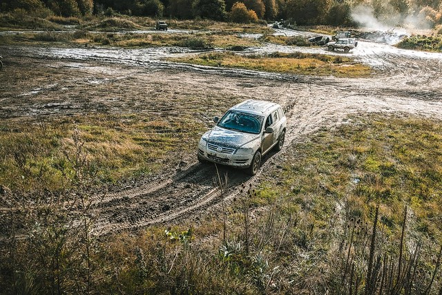 V10 Touareg from Frickley 4x4 Offroad Centre
