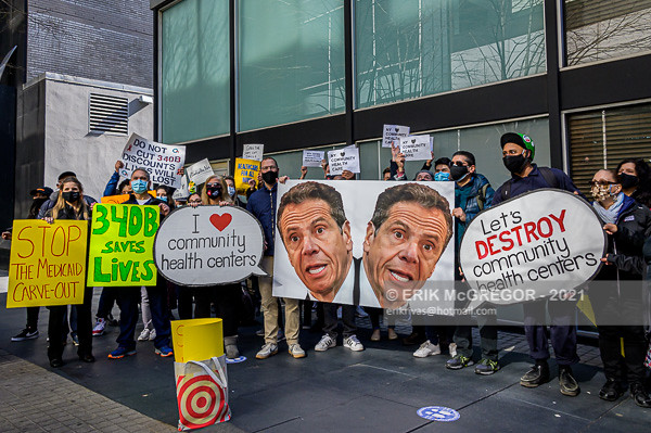 Rally To Save Community Healthcare Safety Net