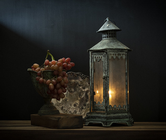 Grapes and Candlelight