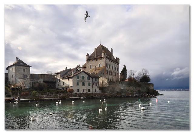 Le magnifique Château d'Yvoire