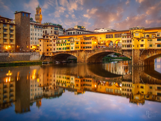 Sunset in the Heart of Florence