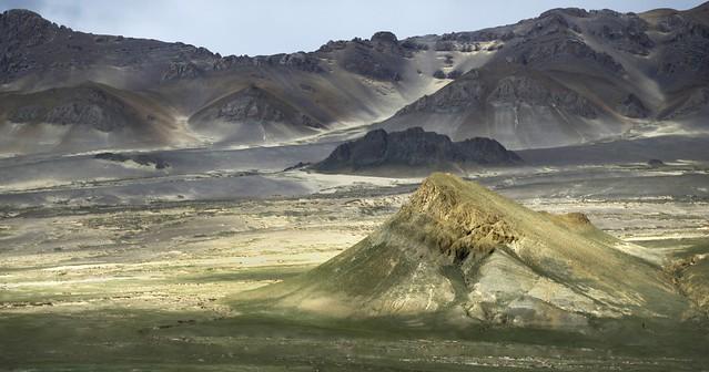 The Tsibri mountain range, Tibet 2019