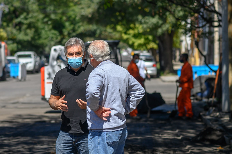 Alta Córdoba: rehabilitación de calle Avellaneda