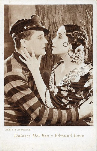 Dolores Del Rio and Edmund Lowe in The Bad One (1930)