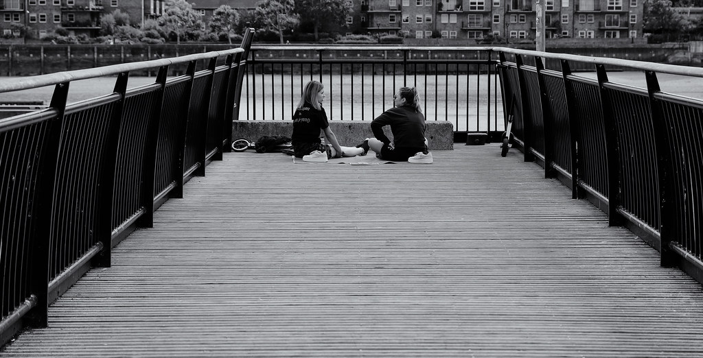Chat on the Pier