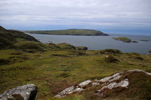 View to Handa Island near Tarbet