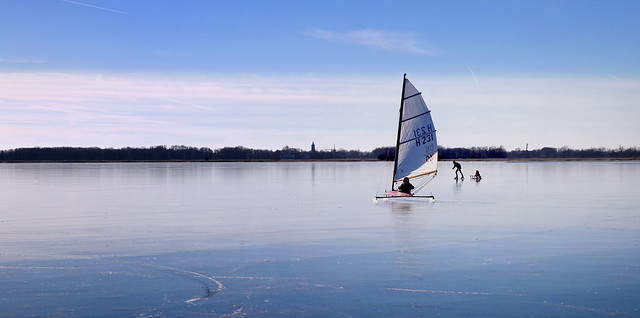 Smoothest natual ice on the Loenderveensche plassen