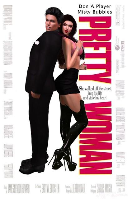 Pretty Woman SL Movie Poster