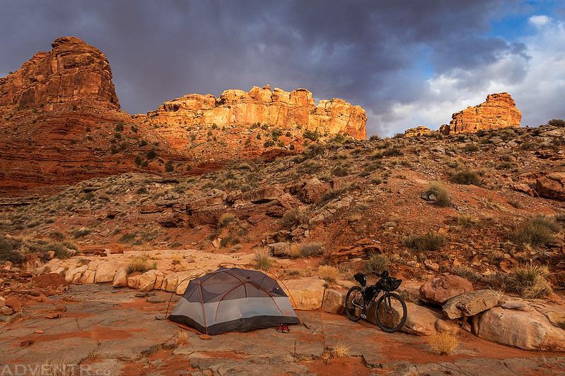 Desert Bikepacking Camp